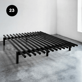 23 - Wooden Bed Frame