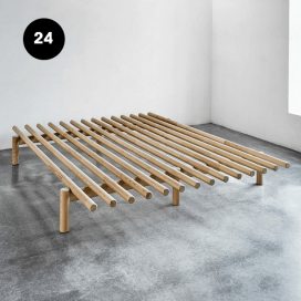 24 - Wooden Bed Frame