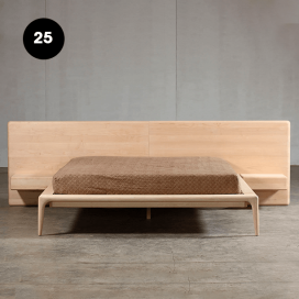 25 - Wooden Bed Frame
