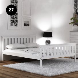 27 - Wooden Bed Frame