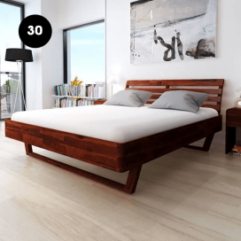 30 - Wooden Bed Frame