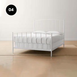 4 - Metal Bed Frame
