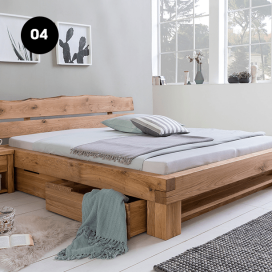 4 - Wooden Bed Frame