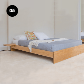 5 - Wooden Bed Frame