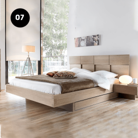 7 - Wooden Bed Frame