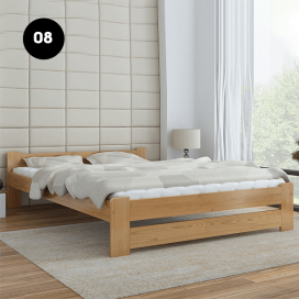 8 - Wooden Bed Frame