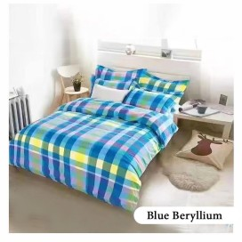 Blue Beryllium Complete Bed Set