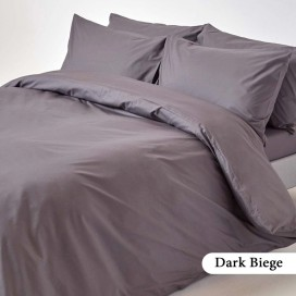 Dark Beige Complete Bed Set