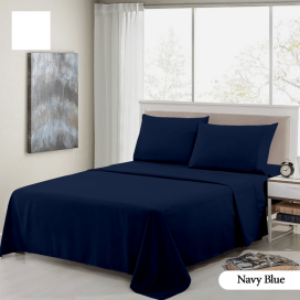 Navy Blue Complete Bed Set