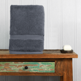 Grey Luxury Boutique Bath Towel