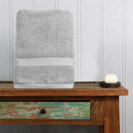 Silver Luxury Boutique Bath Towel