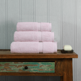 Baby Pink Luxury Boutique Towel Set