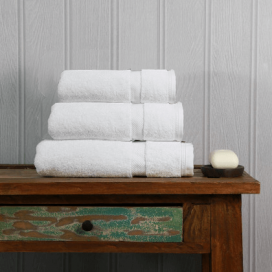 White Luxury Boutique Towel Set