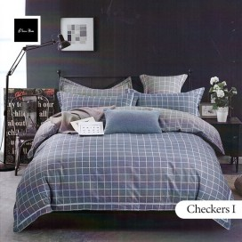 Checkers I Bedsheet