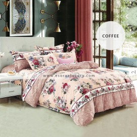 coffee Duvet Cover and Quilt Comforter