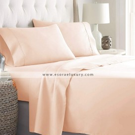 Peach Complete Bed Set