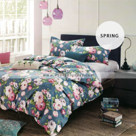 spring duvet cover and quilt comforter
