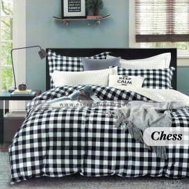 Chess Duvet Cover and Quilt Comforter