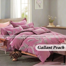 Gallant Peach Duvet Cover and Quilt Comforter