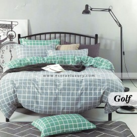 Golf Duvet Cover and Quilt Comforter