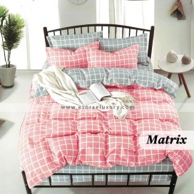 Matrix Duvet Cover and Quilt Comforter