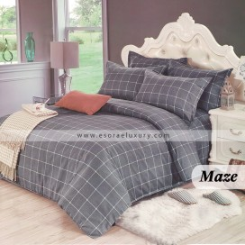 Maze Duvet Cover and Quilt Comforter
