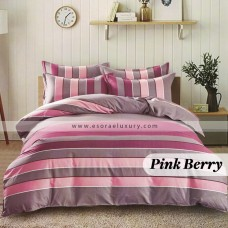 Pink Berry Duvet Cover