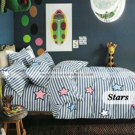 Stars Duvet Cover and Quilt Comforter