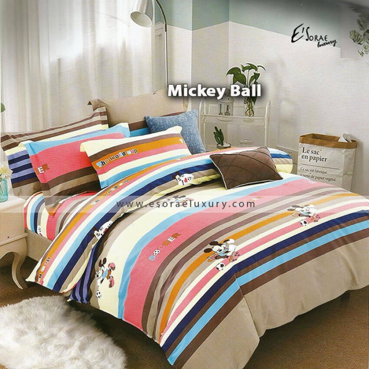 Mickey Ball Duvet Cover & Quilt Comforter
