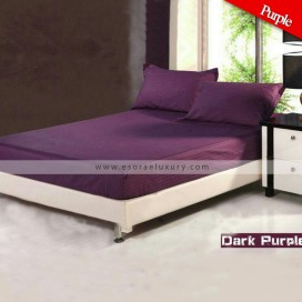 Dark Purple Duvet Cover