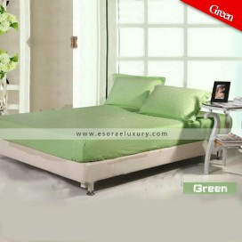 Lemon Green Duvet Cover