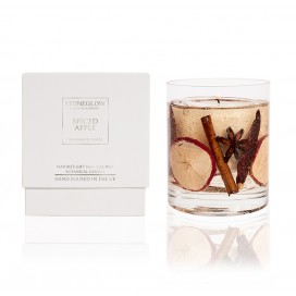 Candle - Spiced Apple Natural Wax Gel Candle | Nature's Gift