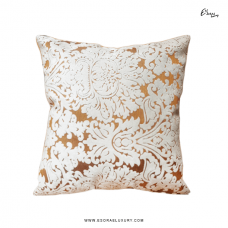 Lily Brown (L) Throw Pillow