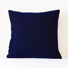 Ink Blue Throw Pillow