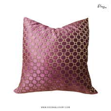 Polka II (L) Throw Pillow