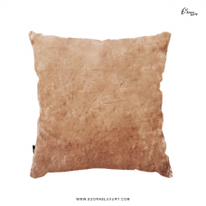 Shimmer Brown (L) Throw Pillow