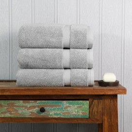 Silver Luxury Boutique Towel Set