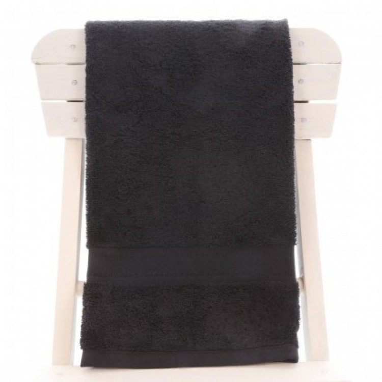 Egyptian Cotton Black Bath Towel
