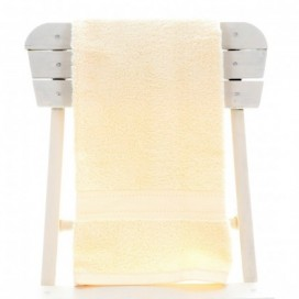Single Egyptian Cotton Vanilla Bath Towel