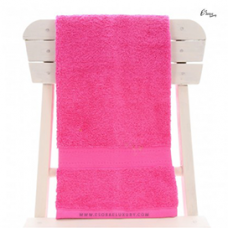 Single Egyptian Cotton Pink Bath Towel