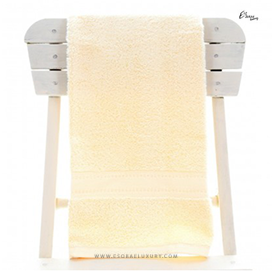 Egyptian Cotton Vanilla Bath Towel